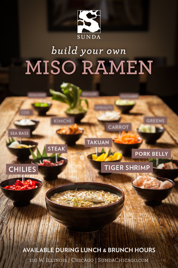 Miso Ramen - Sunda New Asian