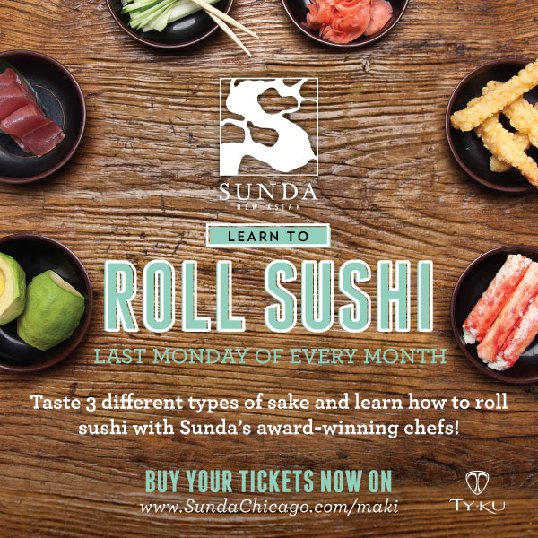 Learn to Roll Sushi