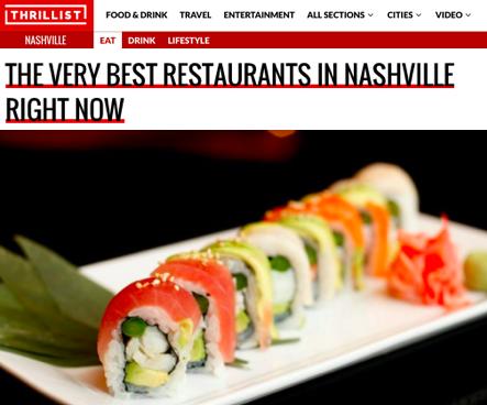 The Very Best Restaurants In Nashville Right Now Thrillist
