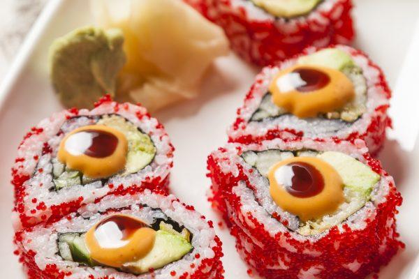 Sunda - Spicy Shrimp Tempura Maki 2