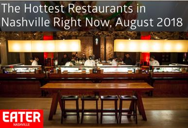 The Hottest Restaurants In Nashville Right Now August 2018